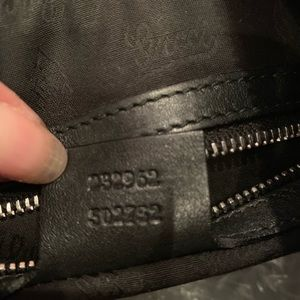 Gucci Bags - Black Leather Authentic Gucci bag
